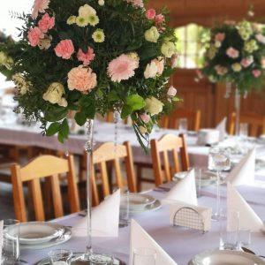 Greenery Martini Decor dekoracje w dobrym guscie gerbera gozdzik roza lustra elegancja i klasa kwiaciarnia szczecin florystka (4)