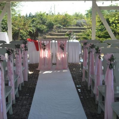 Classy & Elegant Decor - Dekoracje w dobrym guście - Pastelowy ślub plenerowy cywilny humanistyczny symboliczny ceremonia plener ogrod szczecin zachodniopomorskie